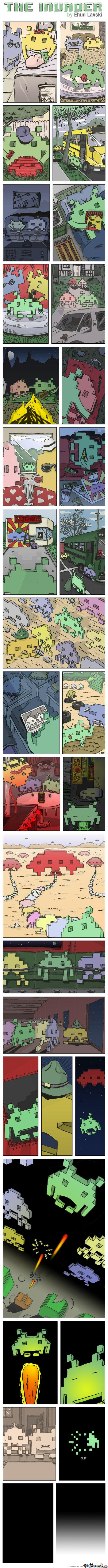 The Life Of A Space Invader (Not Mine)