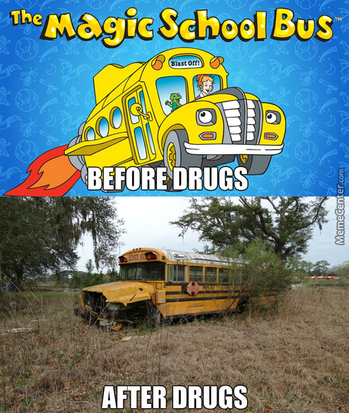 "The Magic School Bus Ran On "" Fake Magic ""  If You Catch My Drift"