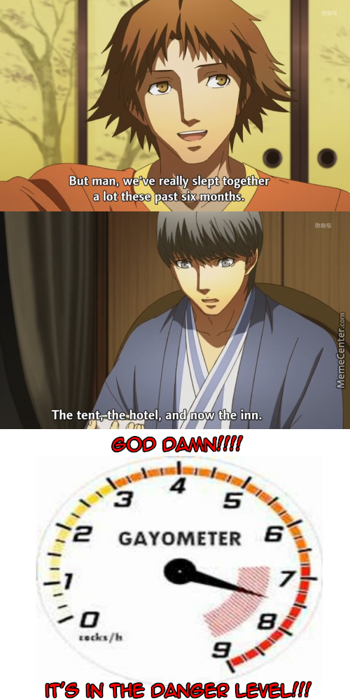 The Meter's Gonna Blow!! (Anime: Persona 4)