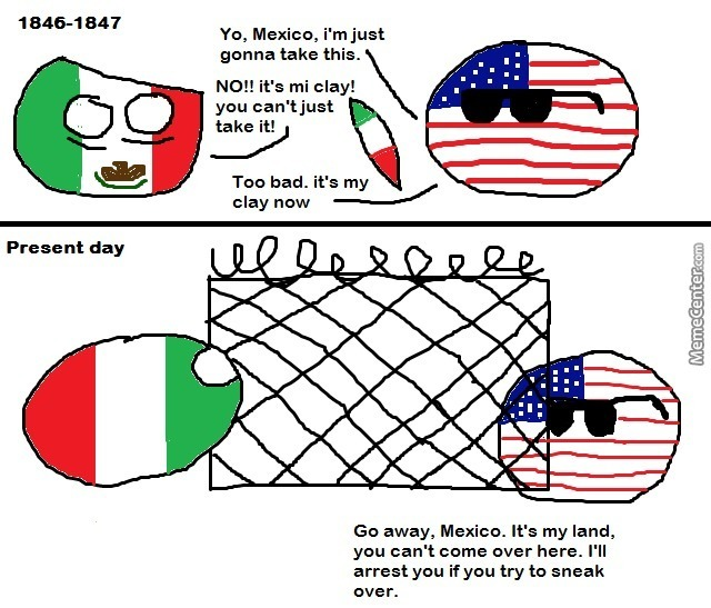 The Mexican American War By Jazzchameleon Meme Center