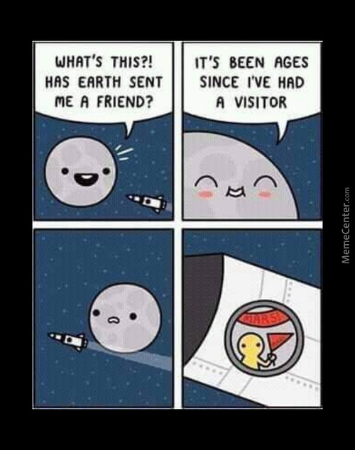 The Moon Is Too Mainstream