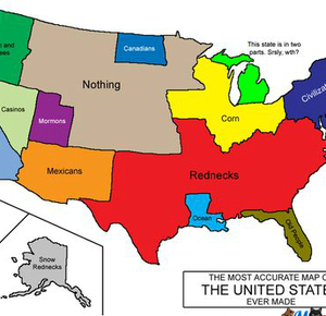 The More Accurate Map Of The Usa By Badrobot Meme Center - Accrate map of us