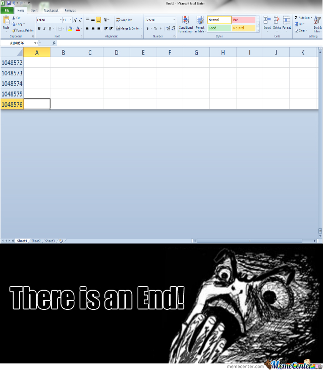 The Most Amazing Discovery: End Of Excel