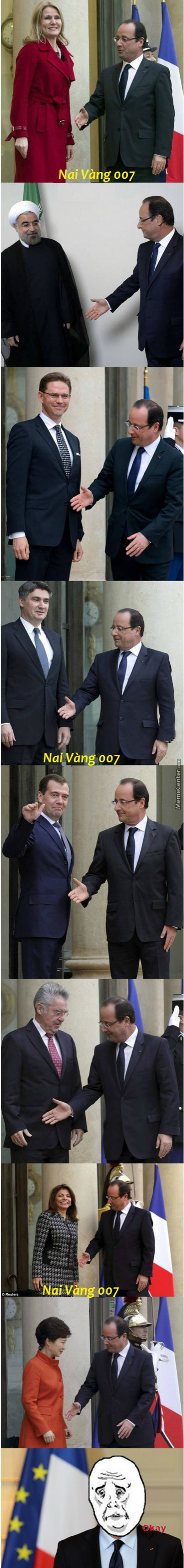 "The Most ""okay"" President Of France"