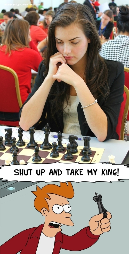 The Most Beautiful Chess Player