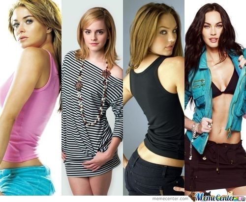 Choose The Most Beautiful Woman In The World