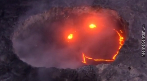 The Most Friendly Volcano
