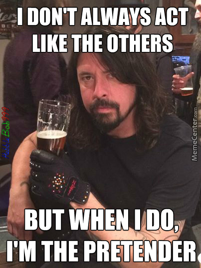 The Most Interesting Man (*ahem* Foo Fighter) In The World