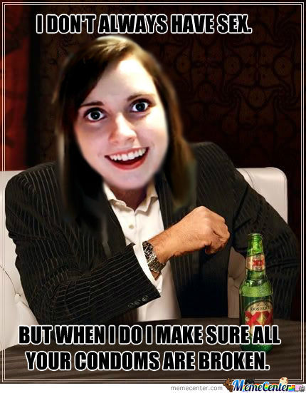 the most overly attached girlfriend of the world_o_429153 the most overly attached girlfriend of the world by,Attached Girlfriend Meme