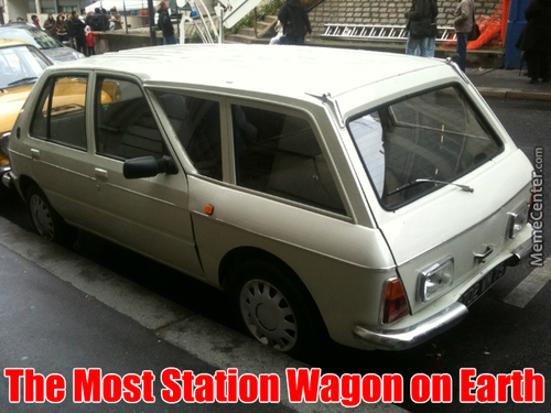 The Most Station Wagon On Earth
