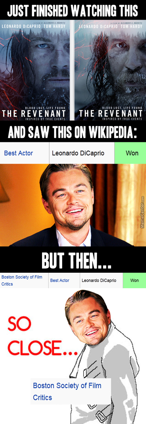 The Movie Was Pretty Good, Leo Might Actually Win This Year