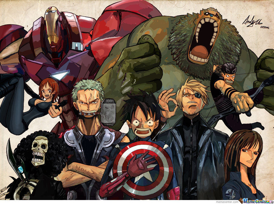 The Mugiwara Avengers