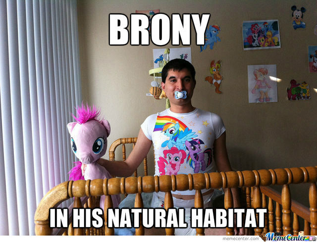 The Mystical Brony In His Natural Habitat