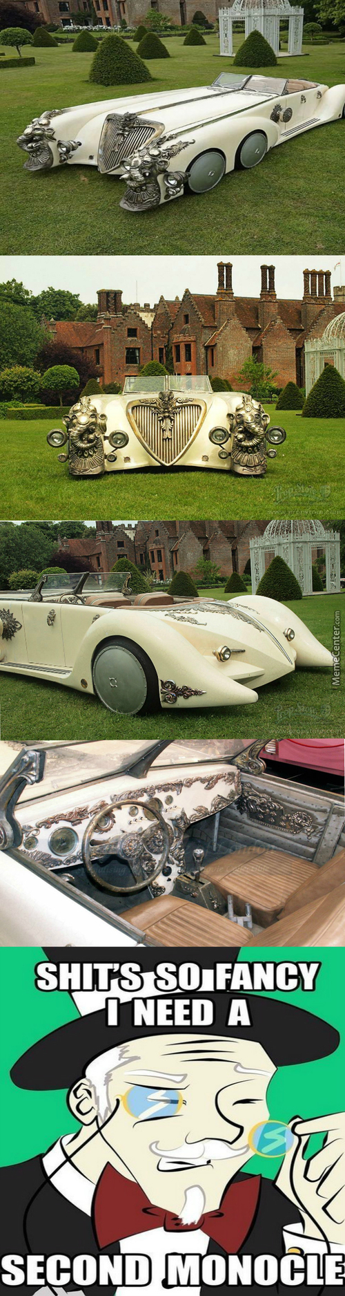 "The Nautilus Car By Peugeot For ""league Of Extraordinary Gentlemen"" As Advertised"