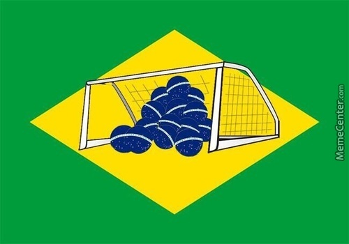 The New Brazillian Flag