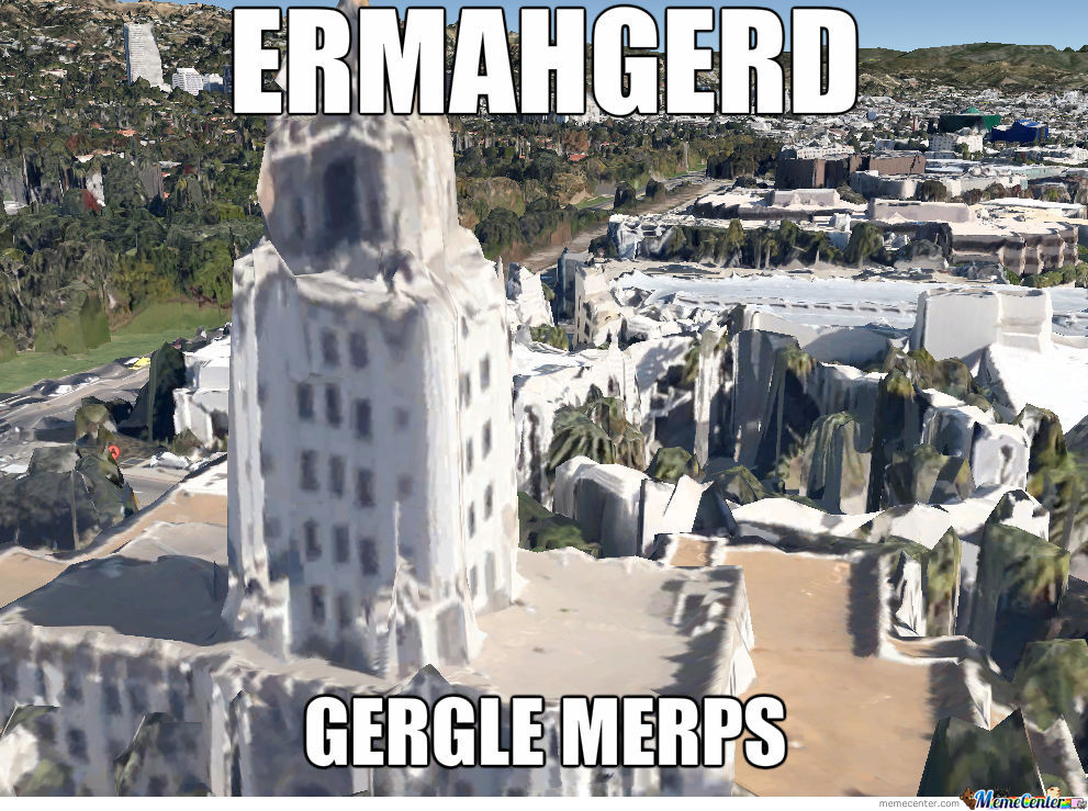 The New Google Maps 3D Buildings Are Amazing...