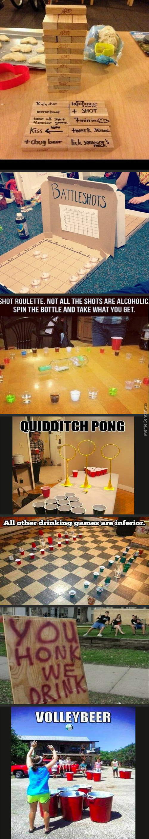 The New Kind Of Drinking Games