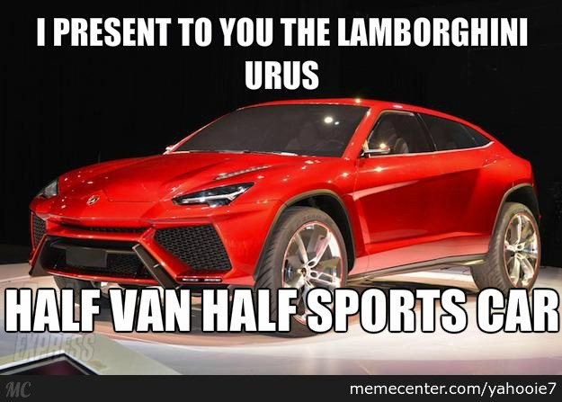 The New Lamborghini Minivan By Yahooie7 Meme Center