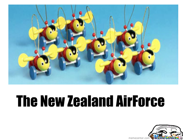 The Newzealand Airforce