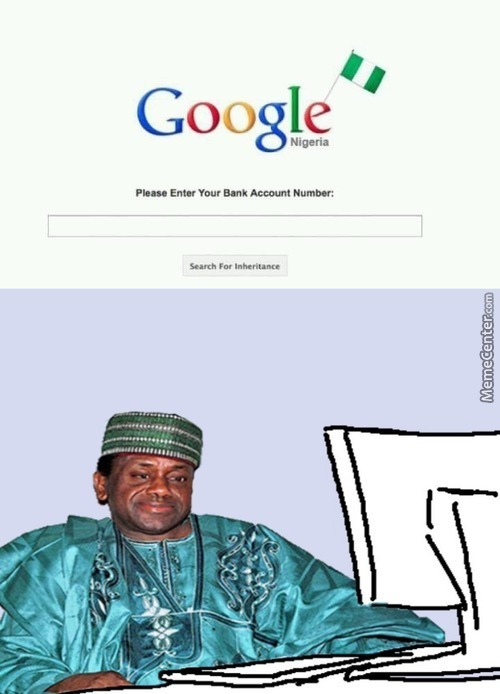 The Nigerian Prince Has A New Strategy
