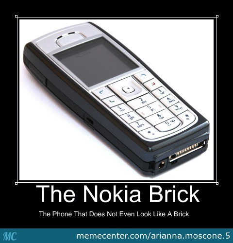 The Nokia Brick