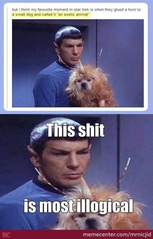 The Not So 'exotic' Star Trek Animal