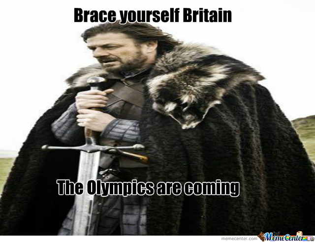 The Olympics Are Coming