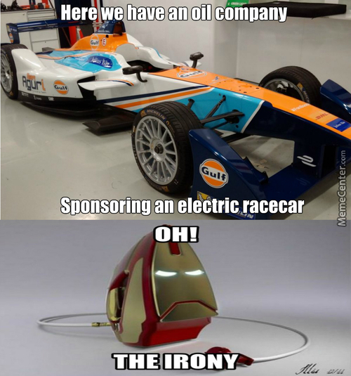 The Only Logic You'll Find Here Is Money (Or The Racing Heritage)