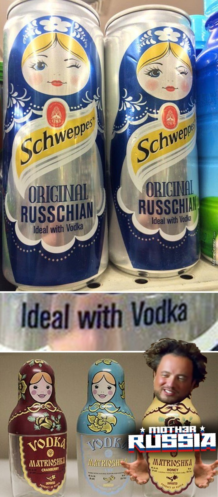 The Only Thing Good With Vodka Is More Vodka, Duh...