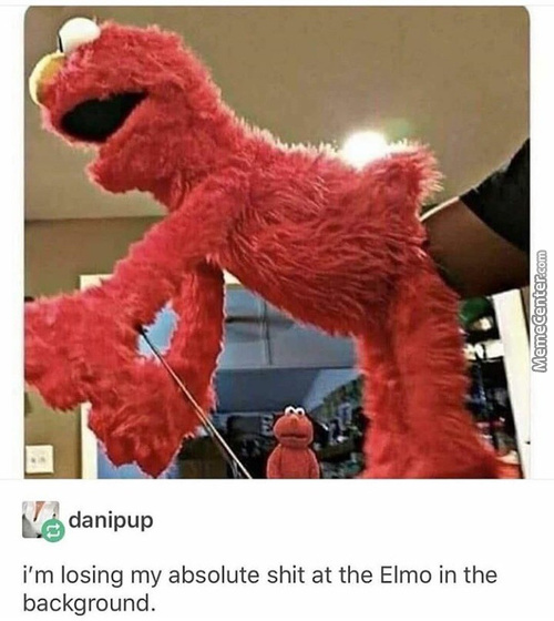The Only Thing I Want For Christmas Is To Fist Elmo
