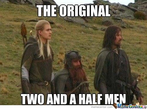 The Original Two And A Half Men, Yes