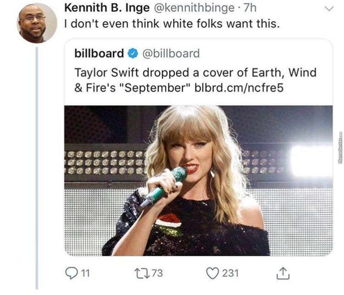 The Original Up Beat Energy Of The Original September Isn't There, Its Just Bland