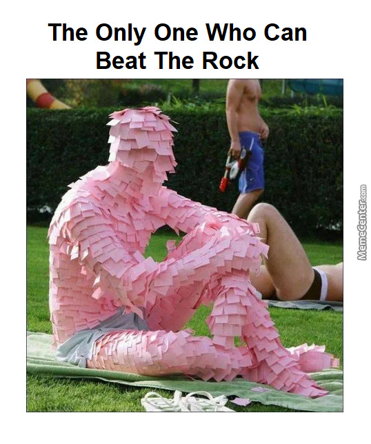 The Paper Is The Rock'S Natural Enemy