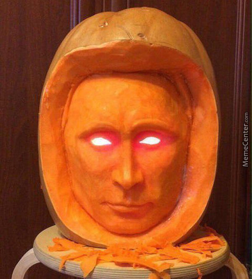 The Perfect Pumpkin Doesn't Exist....putinkin?