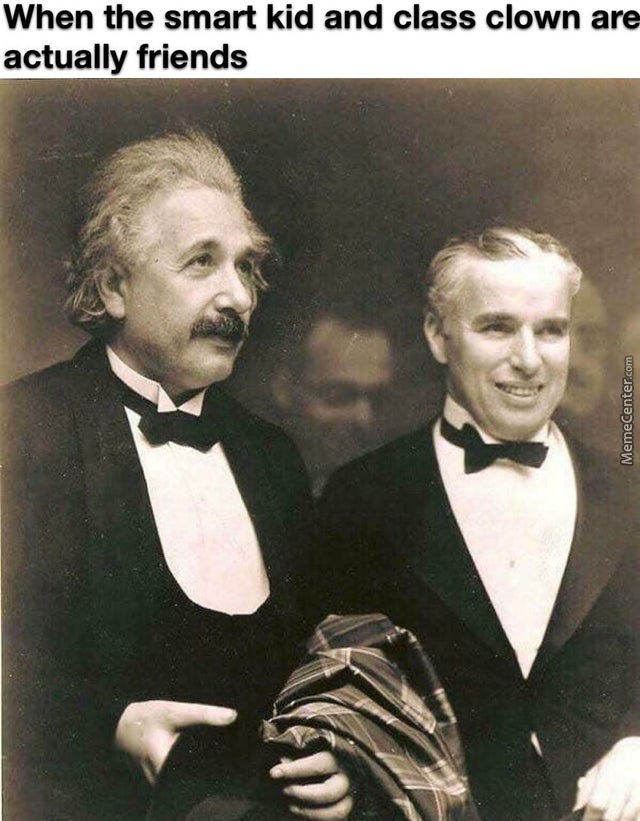 The Person On The Right Is Charlie Chaplin Btw