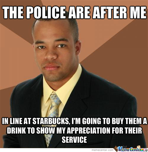 The Police Are After Me