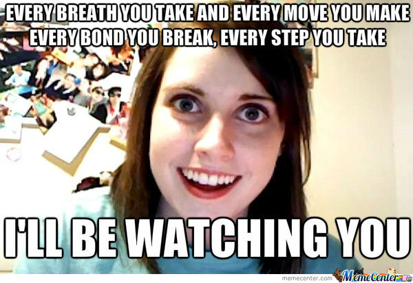 The Police Overly Attached Girlfriend