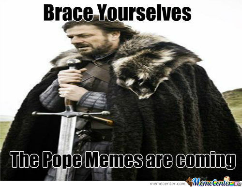 The Pope ..