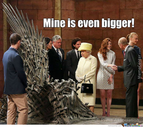 The Queen Isn't Jealous At All!