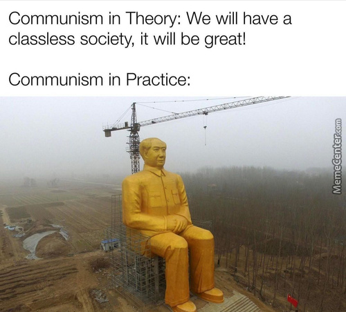 The Question Is: What Comes First? The Heat Death Of The Universe Or Working Communism?