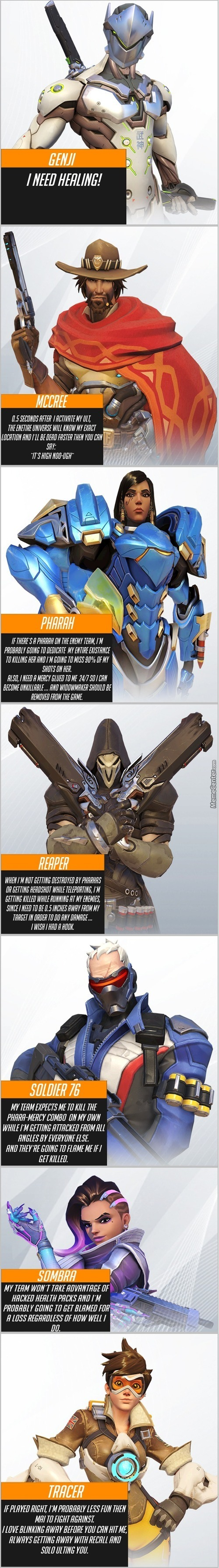 The Ranked Overwatch Experience: Offense