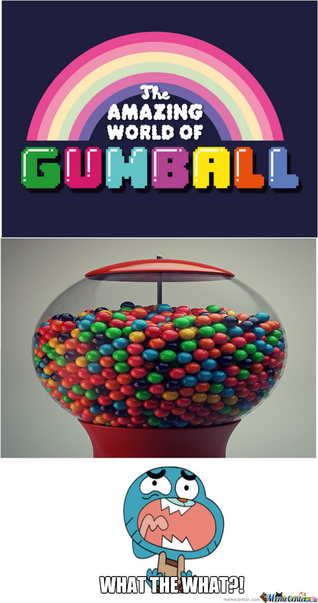 The Real Amazing World Of Gumball