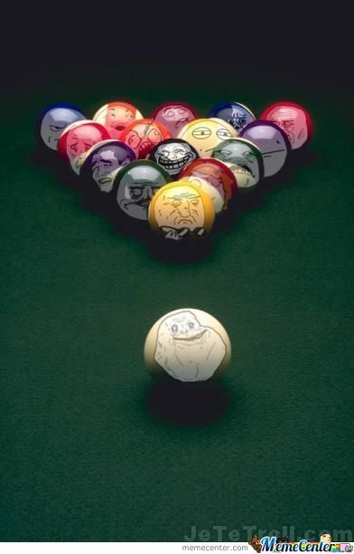 The Real Face Of Pool's Balls
