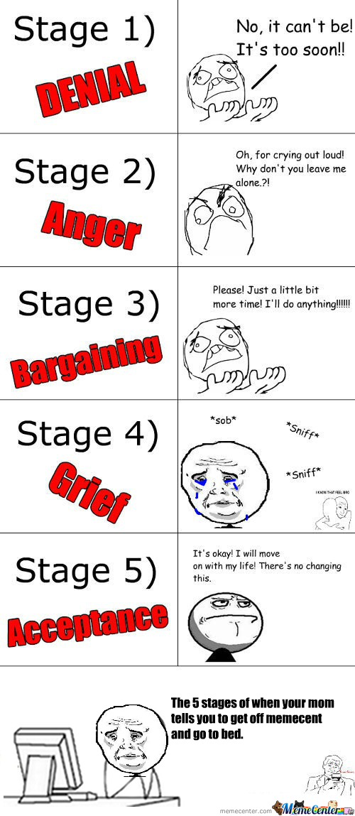 The Real Five Stages