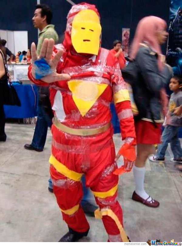 The Real Iron Man!