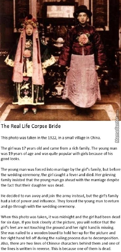 The Real Life Corpse Bride By Enmakaoru Meme Center
