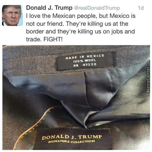 The Real Reason Trump Wants To Ban Mexicans
