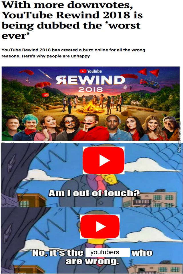 The Real Rewind Would Be Pewdiepie Fighting T-Series In The Suicide Forest With Ali-A Delfult Dancing
