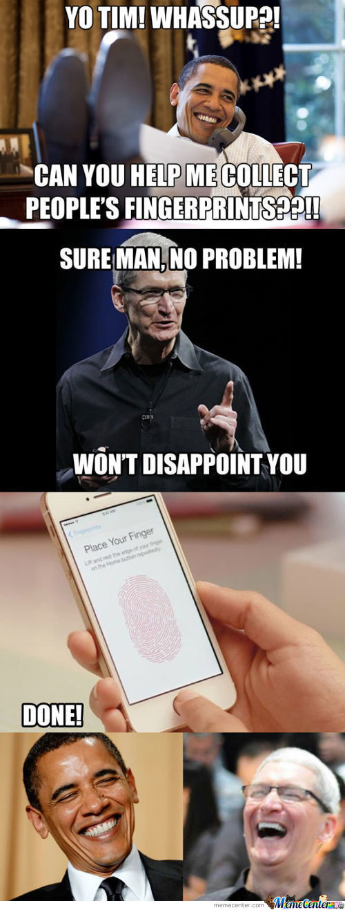 The Real Truth Behind The Fingerprint Lock On The Iphone 5S.