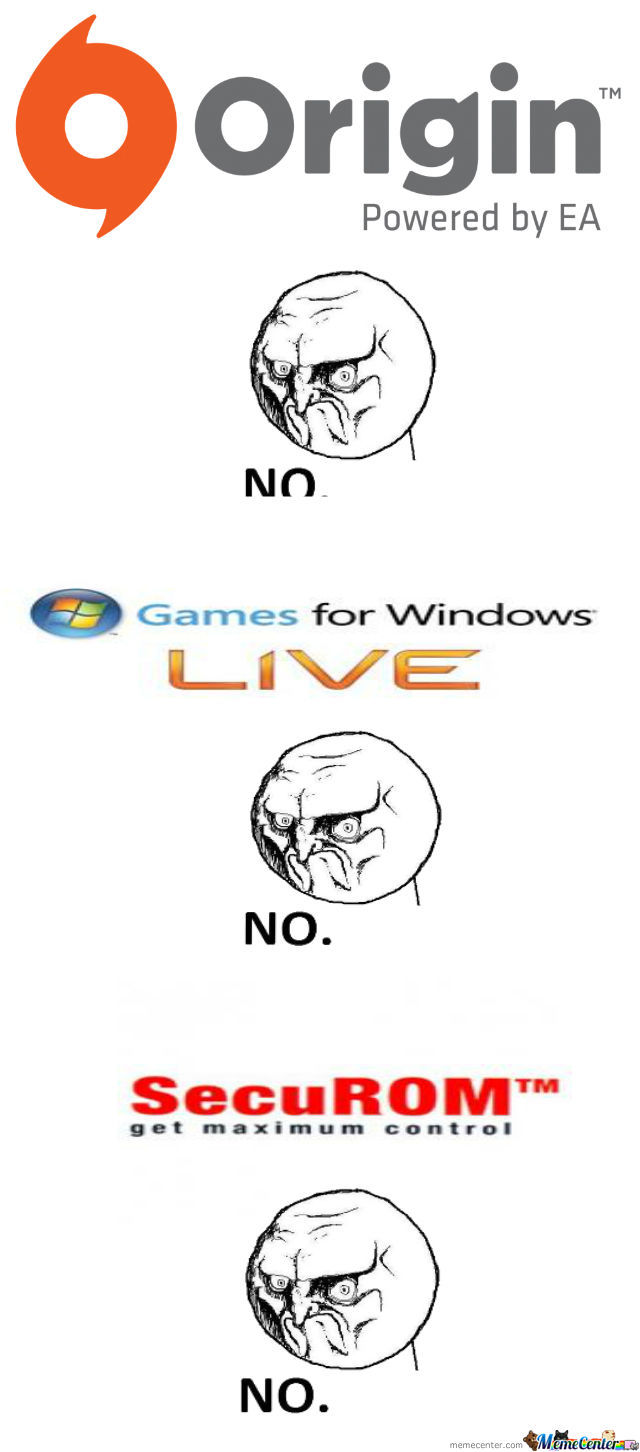 The Reason I Didn't Buy Battlefield 3, Mass Effect 3, Dark Souls Pc, Crysis, And Others